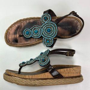 Donald J Pliner cami espadrille sandals womens 9